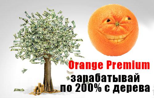 Заработок на Orange Premium